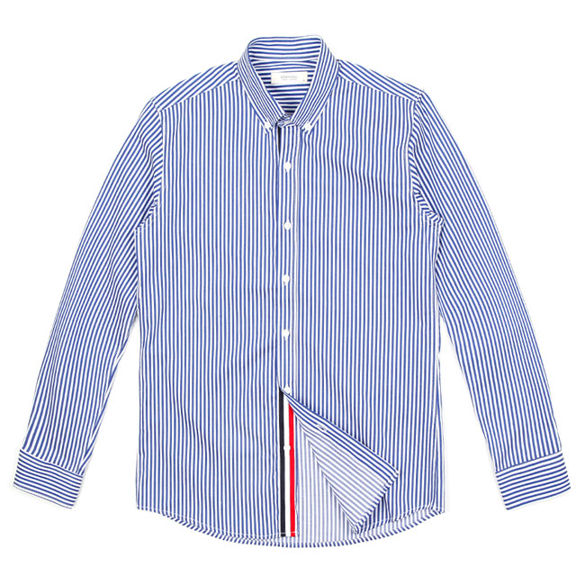 d7bed877709 [화이트펄맨]히든컬러 잔줄카라셔츠/남자스트라이프셔츠/남자명품스타일셔츠